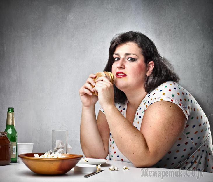 Продукты, которые делают вас больными и толстыми