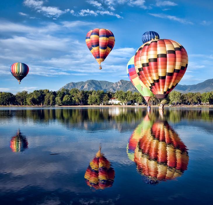 Воздушные шары в штате Колорадо
