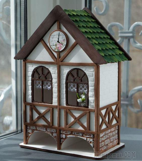 Из чего можно сделать домик для поделки