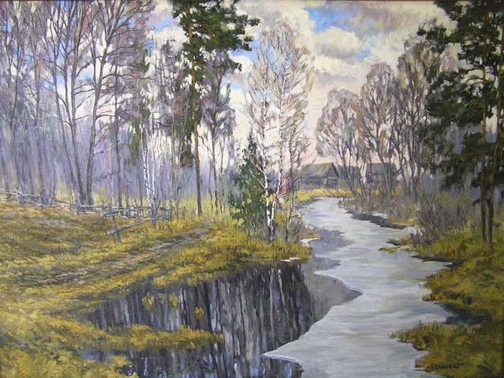 акварели художник Игорь Хайков - 09