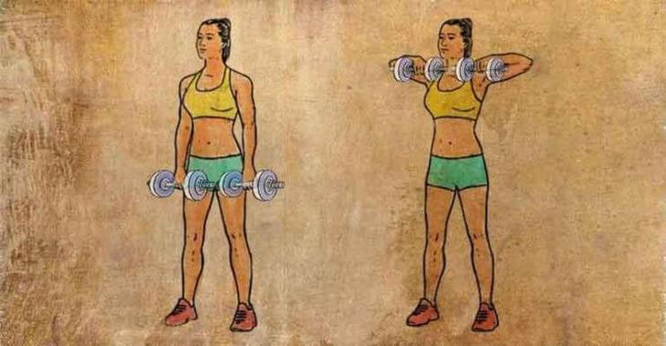 Как похудеть в спине: 8 упражнений для избавления от подкожного жира