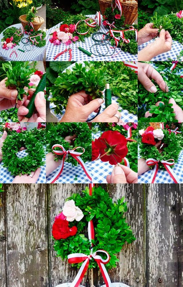 fullsize Рождественский венок своими руками. Как сделать красивый венок на Новый год