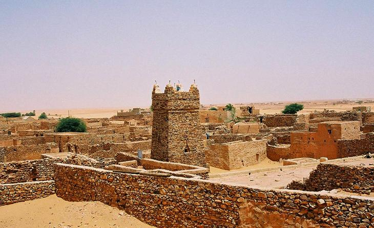 Древняя столица империи Гана Кумби-Салех