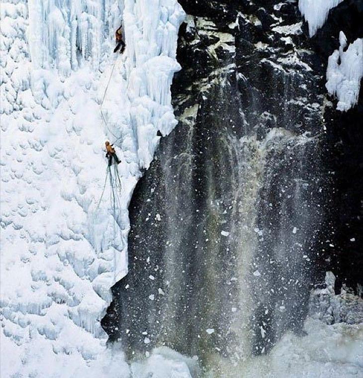icefalls01 10 невероятных ледяных водопадов