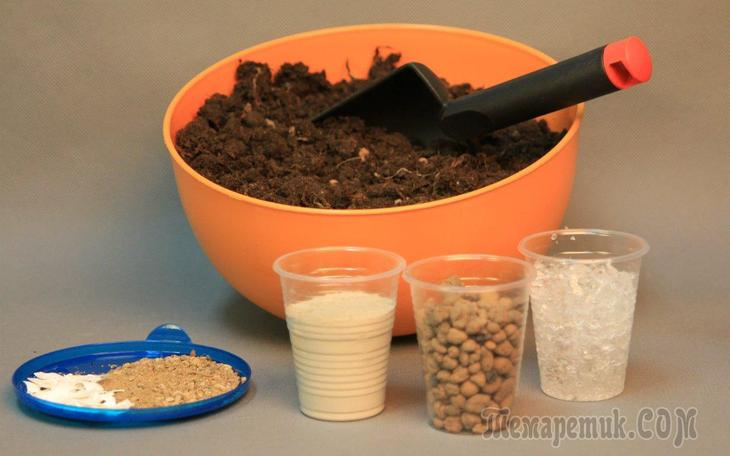 Как приготовить качественный грунт для рассады