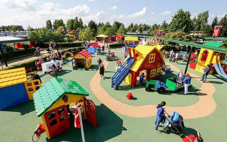 Детские площадки в зоне Duplo