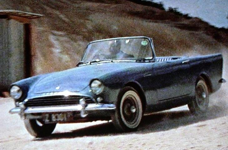 1962 год, Dr. No: Sunbeam Alpine