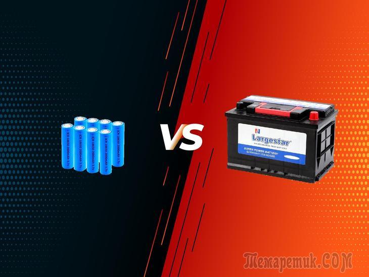 Почему вместо тяжелых свинцовых аккумуляторов мы не используем маленькие и легкие литиевые