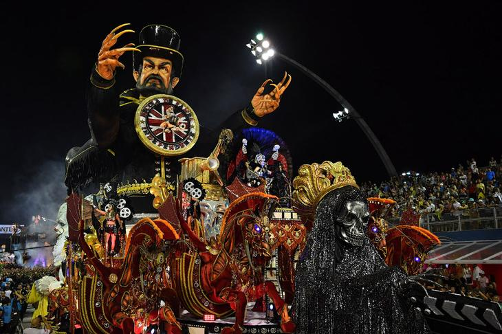 Карнавал в Сан-Паулу loverme