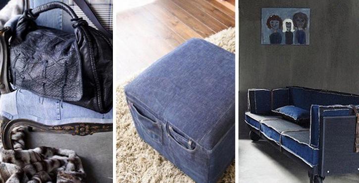 Выкидывать старые джинсы просто преступление: 30 потрясающих идей