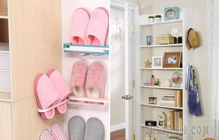 8 идей мест для хранения, на которые часто не обращают внимания