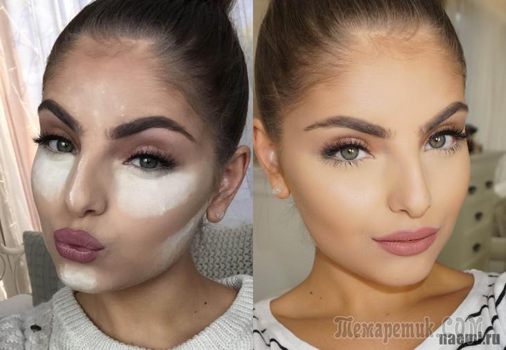 Контурирование лица: как правильно делать