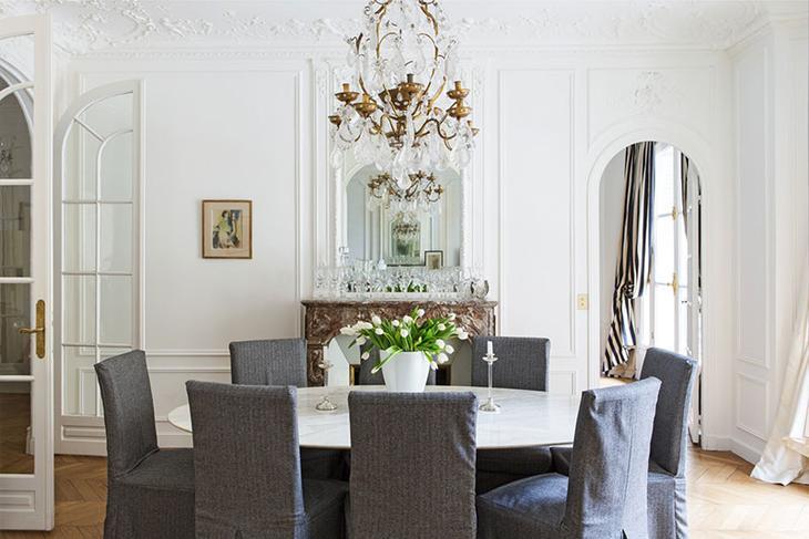 Интерьер по проекту российского декоратора в Париже