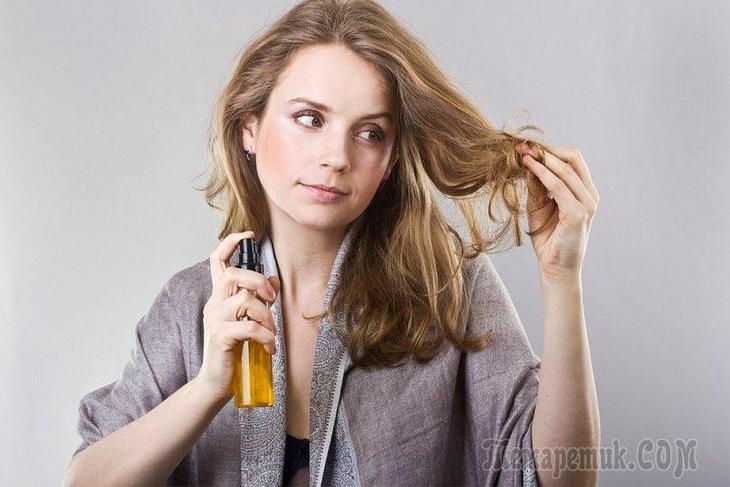 Как приготовить полезный спрей для волос
