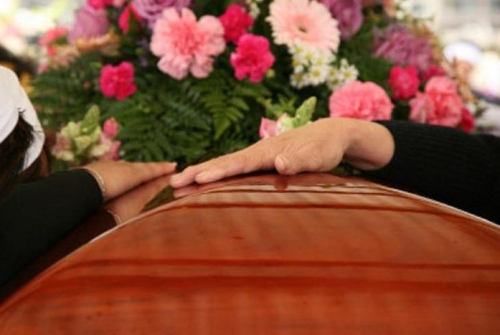 Погода на похоронах