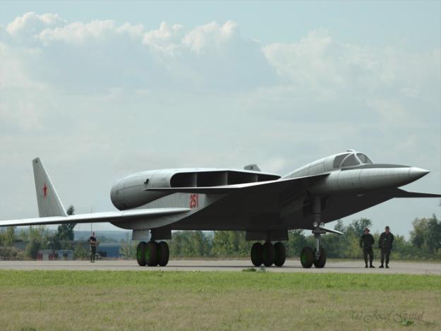 Самолет М-25 — адский косильщик КБ Мясищева