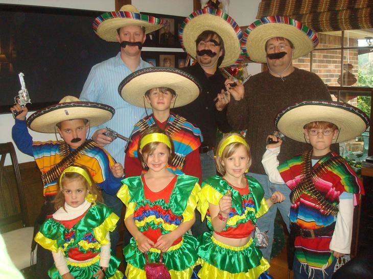 Мексика. Семейные традиции разных народов