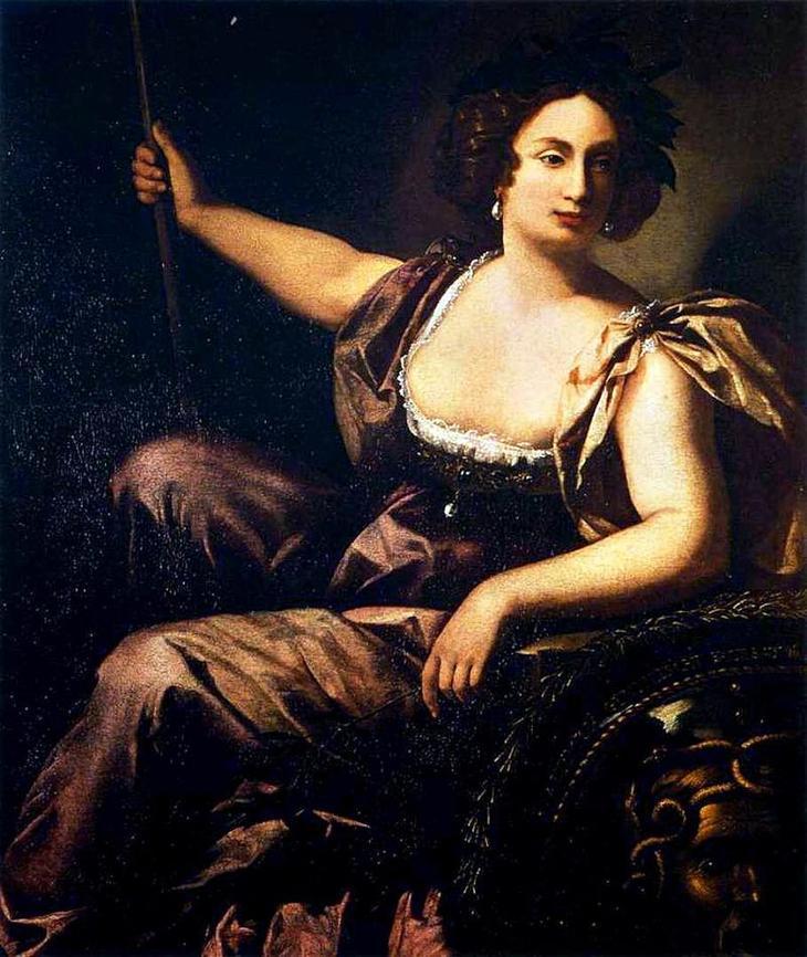 «Минерва» (1615). Мине́рва (лат. Minea) — древнеримская богиня мудрости и войны, покровительница ремесленниц, писательниц, актрис, поэтесс, художниц, учительниц, учащихся и врачинь. Входила в триаду наиболее важных божеств Древнего Рима вместе со своим отцом Юпитером и его женой Юноной. Её культ имеет этрусское происхождение и ведёт историю от местной богини Менрвы, которая в свою очередь взяла многое от древнегреческой Афины.