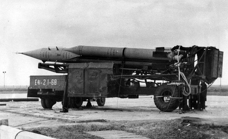 Оперативно-тактический ракетный комплекс 9К71 «Темп»