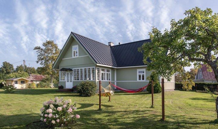 Ремонт сделали на эстонской даче, которой уже больше века