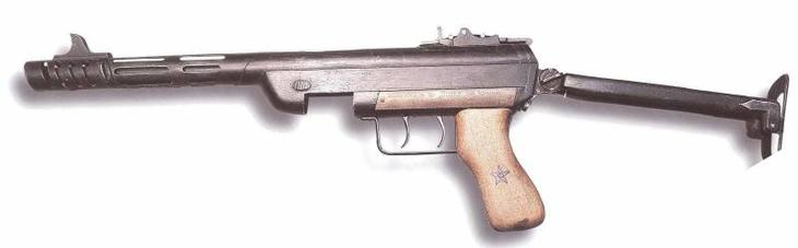 Пистолет-пулемёт Н.С. Сергеева, оружие для партизан