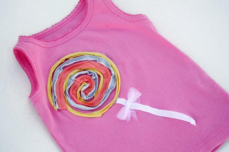 Декорирование детской одежды