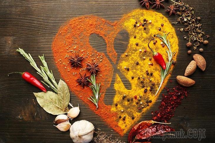 Специи для здоровья сердца