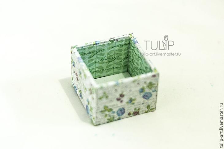 Мастер-класс: как создать подарочную коробочку для кольца, фото № 12