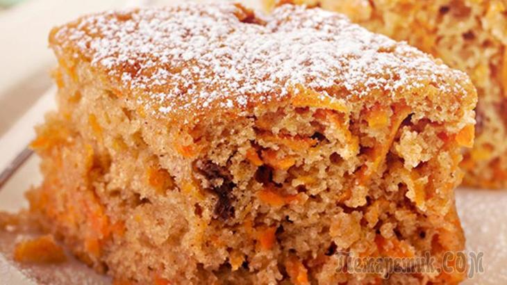 Морковный пирог | Самый простой и вкусный рецепт! Готовлю так уже 10 лет!