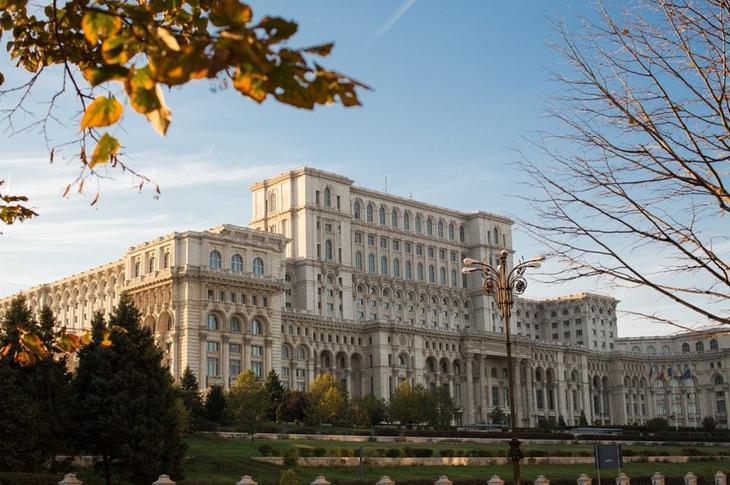 Дворец Парламента в Бухаресте, Румыния