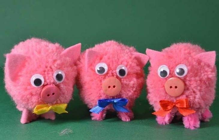 Готовая свинка