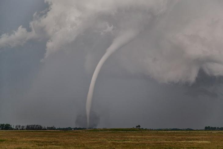 Торнадо в Южной Дакоте