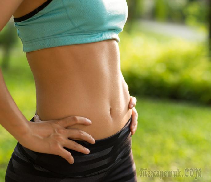 Упражнения, которые помогут добиться кубиков на животе
