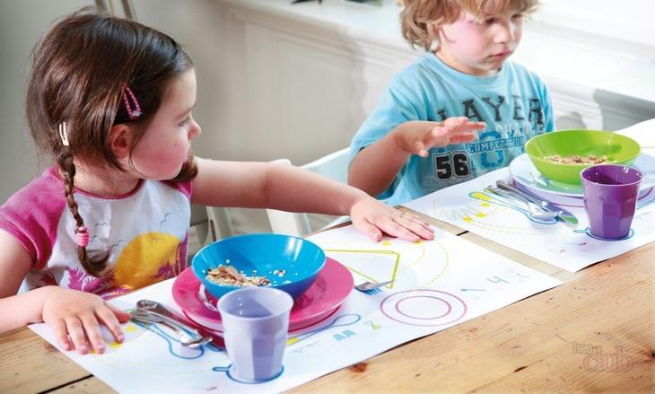 Обучение детей сервировке стола