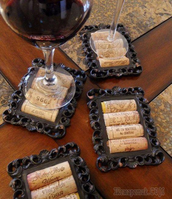 Интересные штучки из винных пробок своими руками