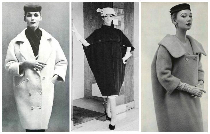 Прекрасная эпоха: 30 вдохновляющих пальто из 50-х