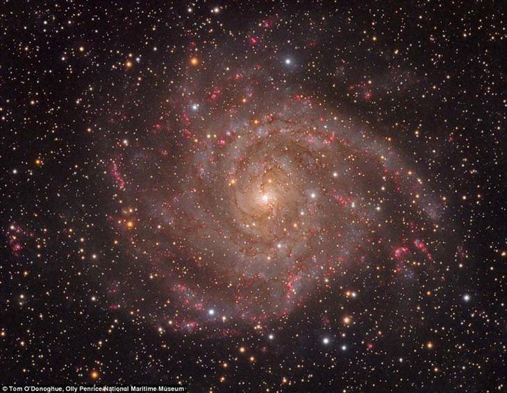 """""""Скрытая галактика"""". Том О'Донохью и Олли Пенрис, Ирландия. астрономия, конкурс, космос, красиво, лучшее, планеты, фото, фотографы"""