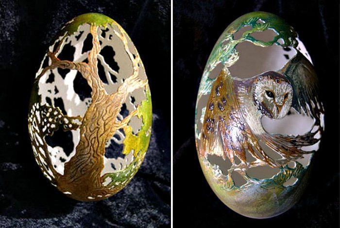 Примеры восхитительного декора яиц к празднику Пасхи