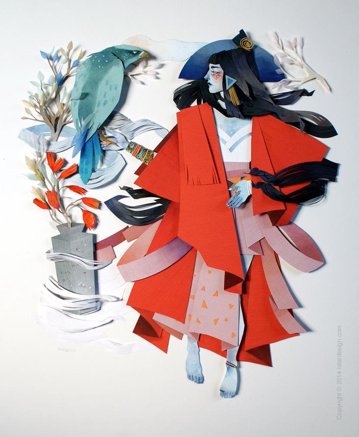 Мифология и реализм фантазий Морганы Валлас on iStar Design Blog on www.istardesign.com
