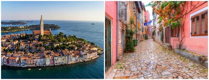 Ровинь, Хорватия Сказочно, города, красиво, места, мир, пейзаж, планета, фото