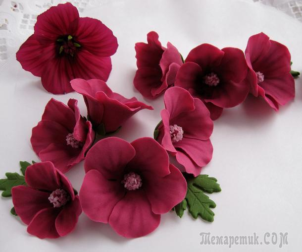 fullsize Цветы из полимерной глины своими руками (мастер-класс)