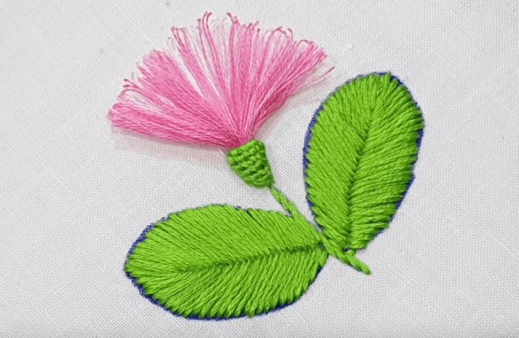 Необычная вышивка
