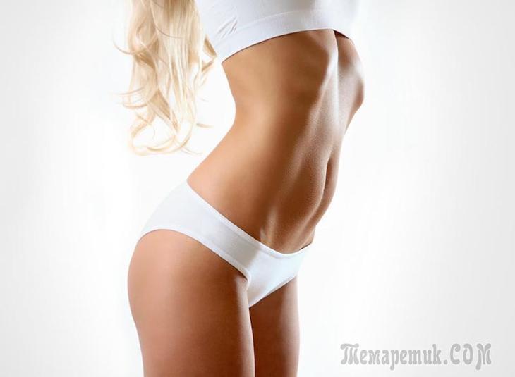 """10 лучших упражнений, чтобы убрать живот и подкачать """"нижний"""" пресс"""