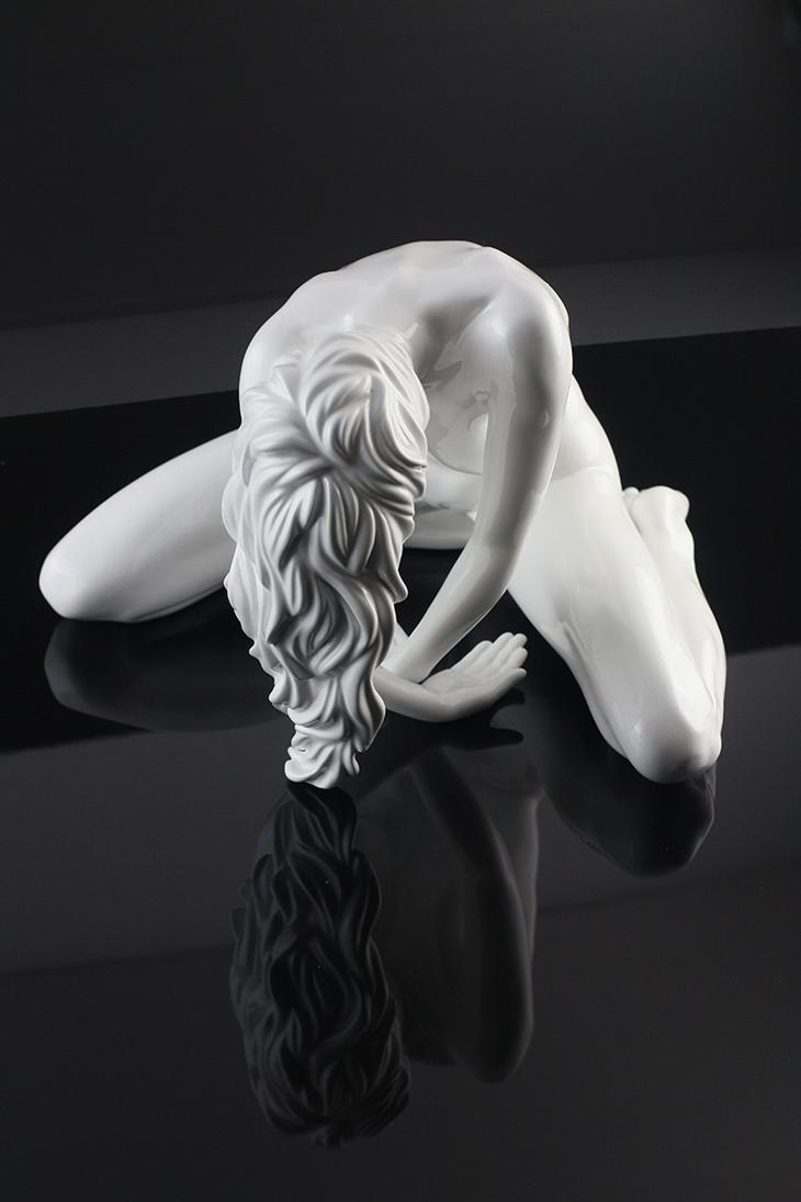 Yves Pires - Sculptures : Down Nacré