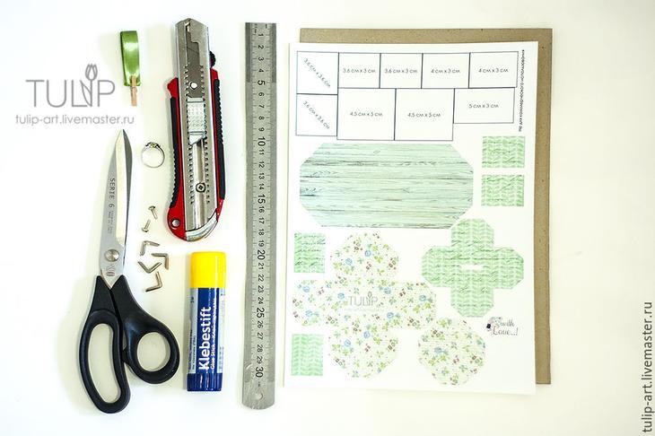 Мастер-класс: как создать подарочную коробочку для кольца, фото № 2
