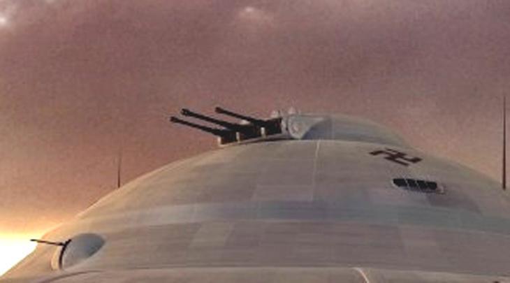 Колокол нацистов Чудо-оружие Die Glocke (колокол) разработал ведущий инженер Аненербе, Ганс Каммлер. Странную конструкцию тестировали неподалеку от Бреслау, затем группа инженеров переместилась в огромную (10 квадратных километров) подземную лабораторию. Вновь следы Die Glocke появились только в 1956 году, когда ЦРУ рассекретило некоторые документы. Согласно этим свидетельствам, колокол был топливным реактором совершенно неизвестной конструкции и предназначался для установки на летающие тарелки нацистов: смех смехом, а 4 опытных аппарата захватили американцы — исследование этого вопроса освещал в своей монографии видный норвежский историк, Гудрун Стенсен.