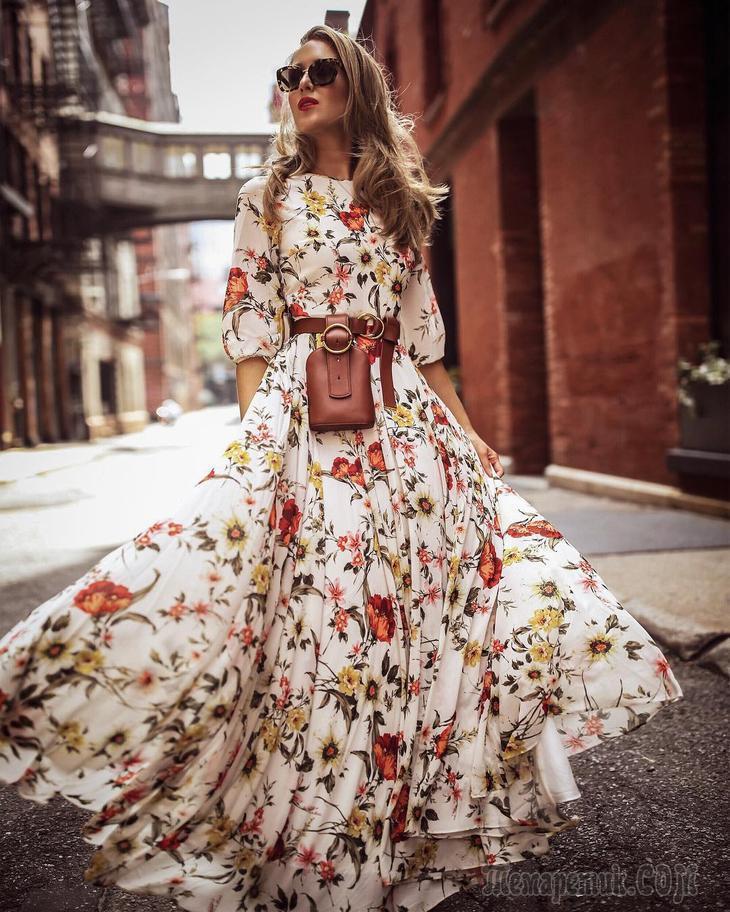 Длинные летние платья: 20 самых трендовых моделей