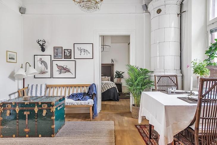 Квартира 42 кв.м. с чудесной террасой