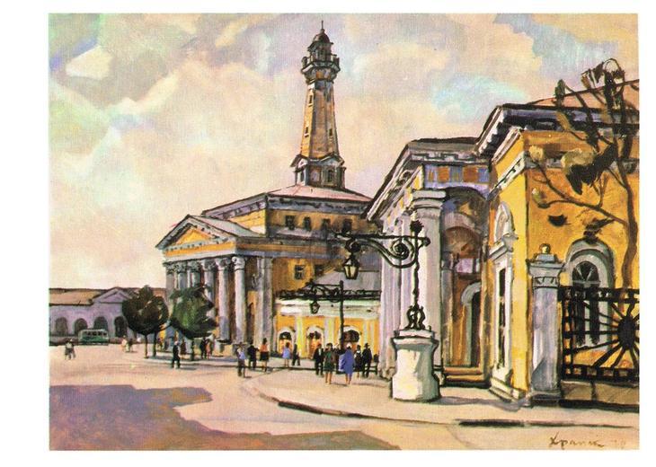 Открытки с городом кострома, папе нарисовать открытку