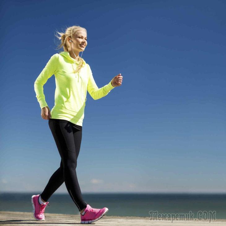 Прогулки для похудения: или, как сжигать в 5 раз больше жира на животе